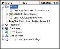 Nowe serwery aplikacji dostępne w NetBeans 5.0