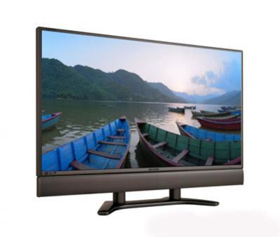 Telewizor LCD Sharp przystosowany do odbioru telewizji wysokiej rozdzielczości