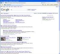 """Google.com - wyniki wyszukiwania dla hasła """"sex"""""""