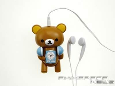Odtwarzacz MP3 jako miś (źródło: AkihabaraNews)