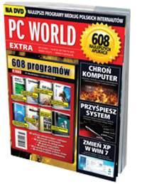 Te i 600 innych programów znajdziesz na płycie dołączonej do najnowszego wydania PC World Extra