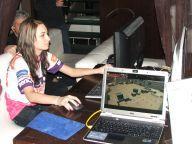 Przedstawicielka drużyny e-sportowej BenQ Delta eSports, z którą można było zagrać w Counter Strike.