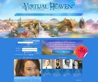 Virtual Heaven. Strona domowa anglojęzycznego wirtualnego cmentarza. Wersja beta.