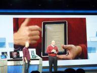 Steve Ballmer z tabletem HP