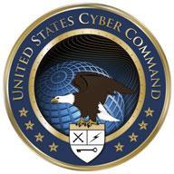 Logo Dowództwa Cybernetycznego USA