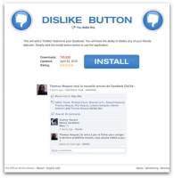 """Instalator przycisku """"nie lubię tego"""" wygląda całkiem profesjonalnie. (Źródło: Sophos.com)"""