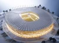 Makieta Stadionu Narodowego w Warszawie