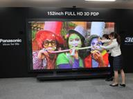 Telewizor plazmowy 3D Panasonic 152 cale