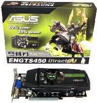 GTS450 w karcie firmy ASUS