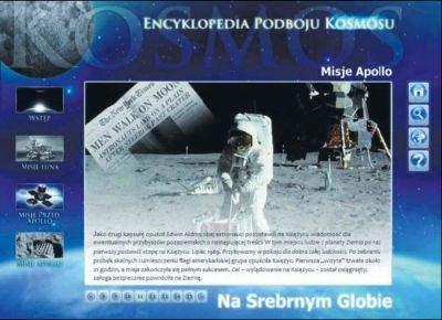 """Wygląd interfejsu """"Encyklopedii Podboju Kosmosu"""" odbiega nieco od tradycyjnych programów tego typu."""