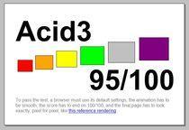 Acid3 - IE9 beta