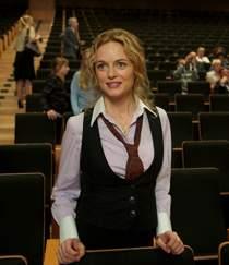 """Heather Graham, odtwórczyni jednej z głównych ról w filmie """"Latająca maszyna"""""""