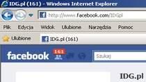 Każdy profil na Facebooku może skorzystać z łatwego adresu, np. Facebook.com/IDGpl.