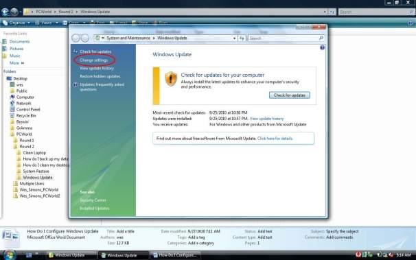 Konfiguracja usługi Windows Update - zmiana ustawień