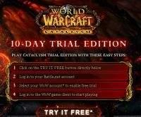 Wypróbuj World of Warcraft: Cataclysm za darmo