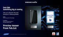 Strona Samsunga nie zdradza praktycznie żadnych informacji