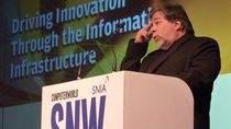 Steve Wozniak podczas konferencji SNW
