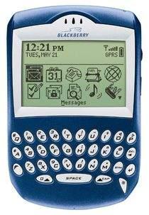 BlackBerry Quark 6210 - asystent biznesmena