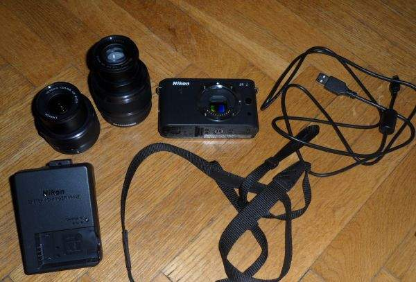 Nikon J1 akcesoria