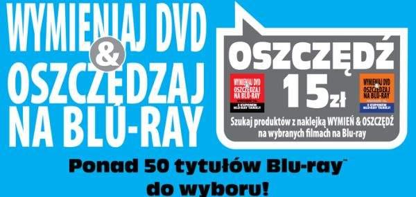 Wymień DVD na Blu-ray