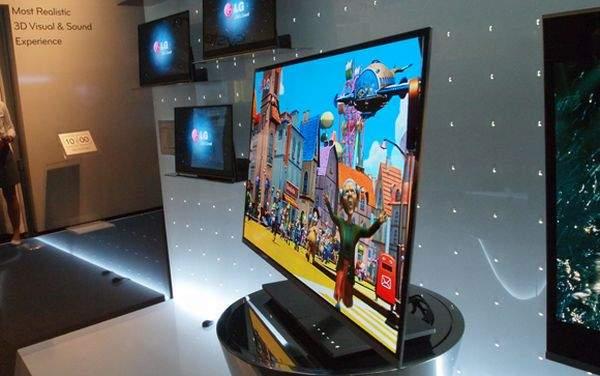 LG OLED TV na IFA 2010