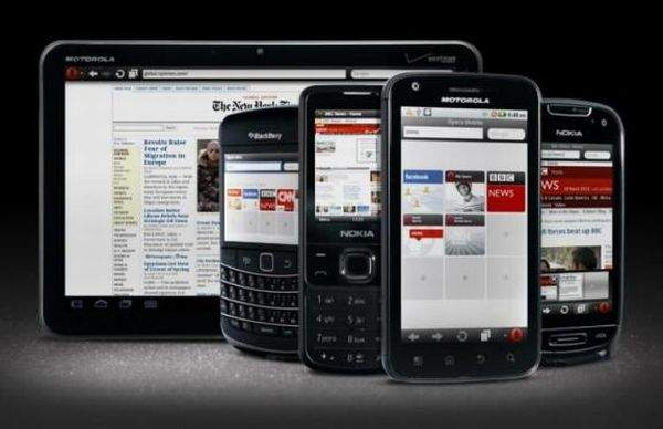 Opera Mini smartfony