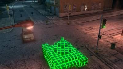 Pikselowy czołg - takie pojazdy są tu na porządku dziennym.