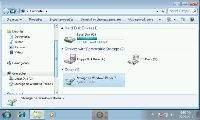 Remote Desktop 7 - funkcje ułatwiające obsługę zdalnego pulpitu ukryte są pod przyciskiem pośrodku dolnej krawędzi