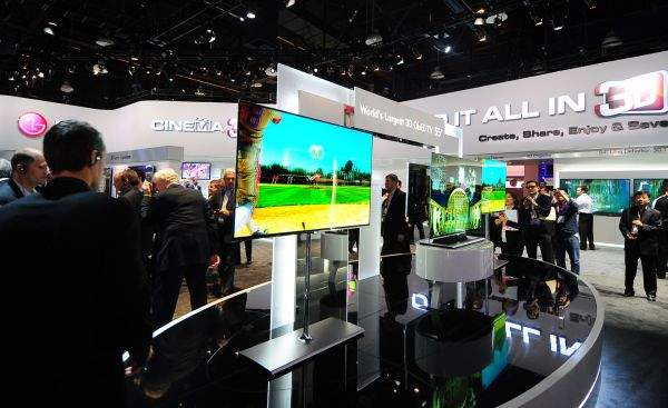 LG OLED TV na CES 2012