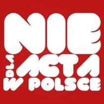 """Logo akcji """"Nie dla ACTA w Polsce""""."""