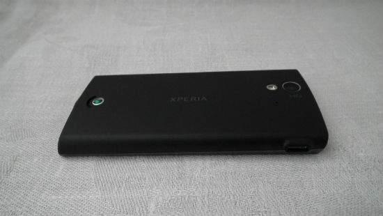 Sony Xperia Ray, obudowa