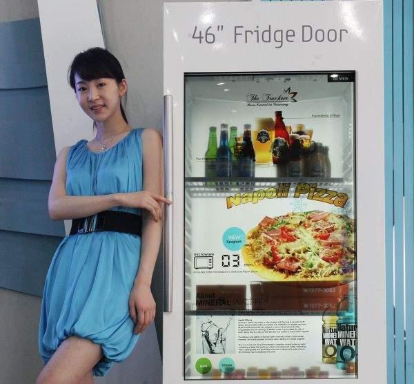Lodówka z LCD Samsunga