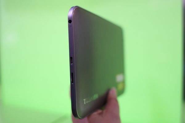 Toshiba AT270 z układem Tegra 3 jest naprawdę cienka