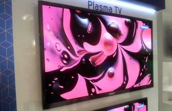 Samsung Plasma TV (kolory)