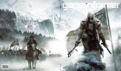 Okładka kwietniowego numeru Game Informer