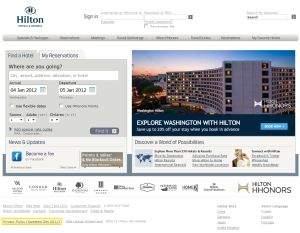 Własne wyszukiwarki ofert mają także największe sieci hotelarskie, do których należą hotele różnych marek na całym świecie, takie jak Hilton czy Accor