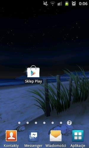 Aplikacja Sklep Play
