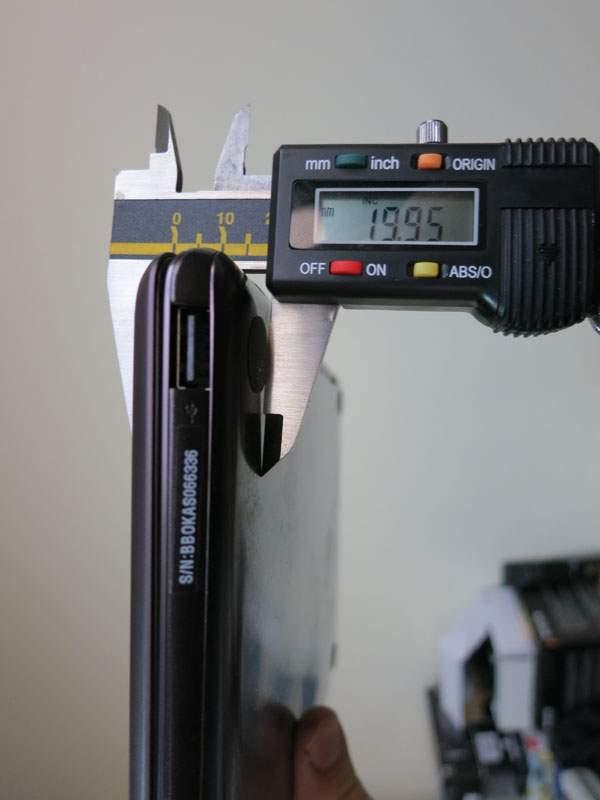 Asus Transformer Prime TF201 z klawiaturą w najgrubszym miejscu ma zaledwie 2 cm