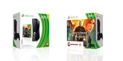 Konsola Xbox 360 z grą Wiedźmin 2: Zabójcy Królów