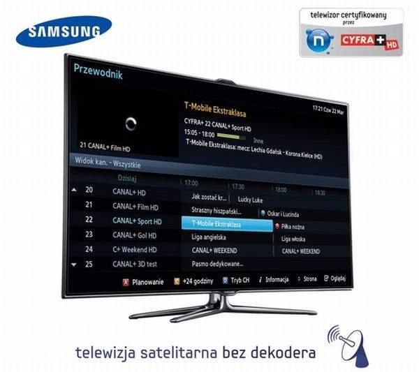 Samsung LED7000 bez dekodera