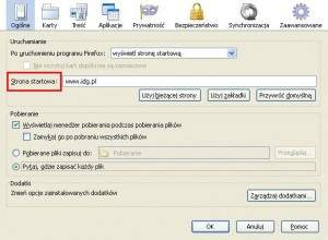 Firefox - strona startowa - Firefox - strona startowa