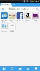 Maxthon dla smartfonów