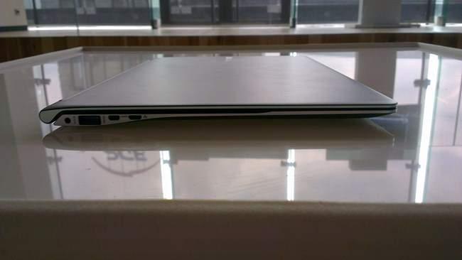 Laptop jest faktycznie bardzo cienki