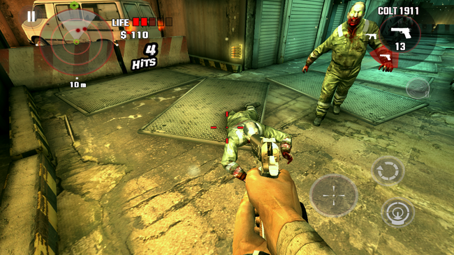 Zombie po straceniu nogi nie daje za wygraną