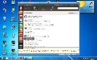 Ubuntu 12.04 pracujące pod kontrolą VMPLayera w Windows 7