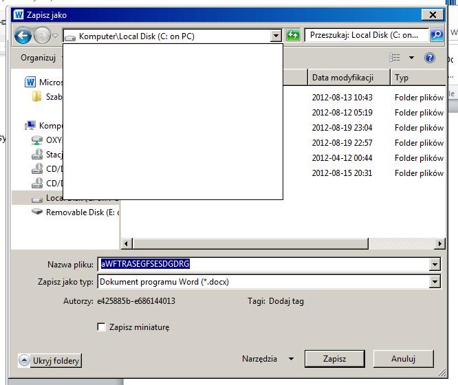 Zapisywać pliki można zarówno lokalnie, jak i w chmurze OXY24