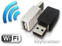 Te niewielkie przejściówki wpina się do gniazda podłączenia klawiatury. Rejestrują wszystko, co wpisuje użytkownik. Hakerzy mogą umieścić podobne urządzenie w myszy, kamerze internetowej lub innym sprzęcie USB.