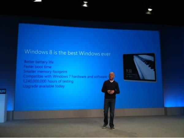 Steven Sinofsky zachwala system Windows 8