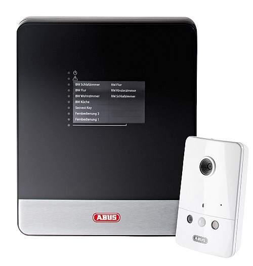 W razie włamania lub pożaru ten system alarmowy połączony z kamerą IP natychmiast wysyła nagranie wideo na smartfon właściciela.