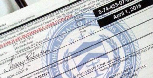 Type 7 Federal Firearms License (FFL)